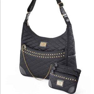 NWT Gayle Martz Nylon sling shoulder/ work bag